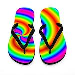 Rainbow Trailer Park Flip Flops