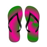 Pinkified Dreams Trailer Park Flip Flops