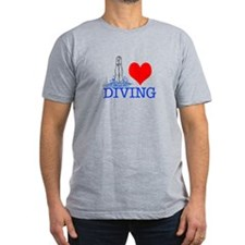 Love (heart) Diving T