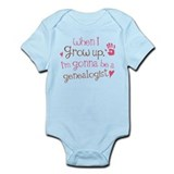 Future Genealogist Kids Infant Bodysuit