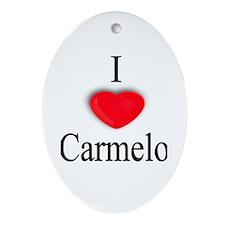 Carmelo Oval Ornament