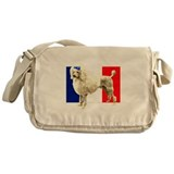 'French Poodle Caniche' Messenger Bag