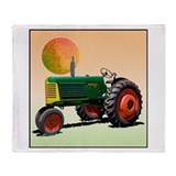 Cute Farm Throw Blanket