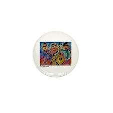 Music, Jazz, Band, art, Mini Button (100 pack)