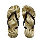 Ramen Noodle Flip Flops