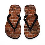 Hit A Brick Wall Flip Flops