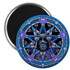 Water Elemental Pentacle Magnet