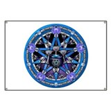 Water Elemental Pentacle Banner