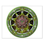 Earth Elemental Pentacle Small Poster