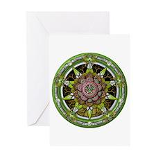 Earth Elemental Pentacle Greeting Card
