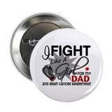 "Fight Like A Girl For My Brain Cancer 2.25"" Button"