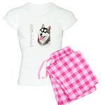Siberian Husky Women's Light Pajamas