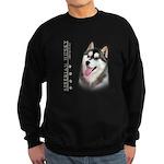 Siberian Husky Sweatshirt (dark)
