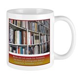 Book shelves Mug