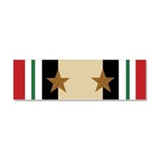 Iraq Campaign 2 Star Car Magnet 10 x 3