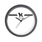 Chinese Crested Wall Clock