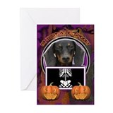 Just a Lil Spooky Doxie Greeting Cards (Pk of 10)