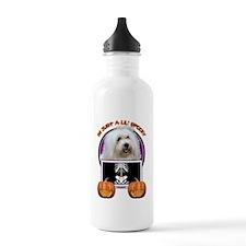 Just a Lil Spooky Coton de Tulear Water Bottle