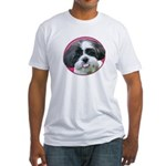 Funny Shih Tzu Fitted T-Shirt