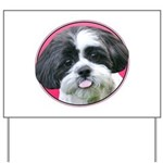 Funny Shih Tzu Yard Sign