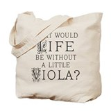 Viola Music Orchestra Tote Bag