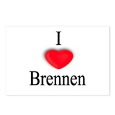 Brennen Postcards (Package of 8)