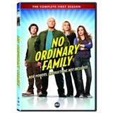 No Ordinary Family: Season 1 on DVD