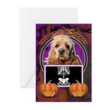 Just a Lil Spooky Cocker Greeting Cards (Pk of 20)