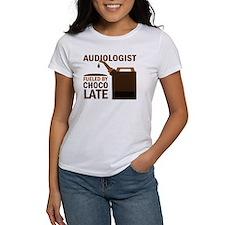 Audiologist Chocoholic Gift Tee