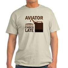 Aviator Chocoholic Gift T-Shirt