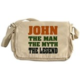 JOHN - The Legend Messenger Bag