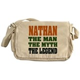 NATHAN - the legend! Messenger Bag