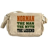 NORMAN - the legend! Messenger Bag