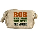 Rob, the Man, the Myth, the L Messenger Bag