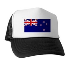 New Zealand Flag Trucker Hat