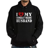 I Love My Combat Medic Husband Hoody