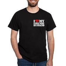 I Love My Combat Medic Husband T-Shirt