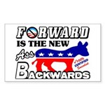 """""""The New Ass Backwards"""" Stickers"""