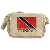 Trinidad Flag Messenger Bag