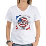 Mustang Original Women's V-Neck T-Shirt