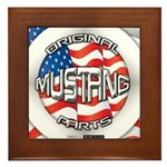 Mustang Original Framed Tile