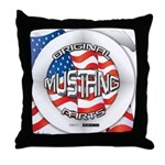 Mustang Original Throw Pillow