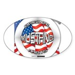 Mustang Original Sticker (Oval 50 pk)