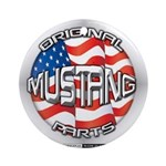 Mustang Original Ornament (Round)
