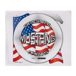 Mustang Original Throw Blanket