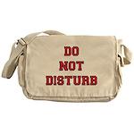 Do Not Disturb Messenger Bag