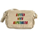 Gifted with Aspergers Messenger Bag