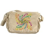 Peace Signs Messenger Bag