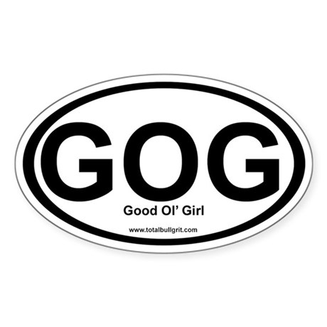 GOG Oval Sticker