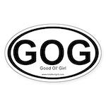 GOG Oval Sticker